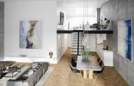 Moderne 3-Zimmer Wohnung mit Galerie im Baufeld A1 Nord