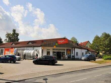 Gut vermieteter SB - Einkaufsmarkt in Suhl!