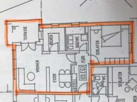 Ravensburg-Schmalegg gepflegte, helle 2,5 Zimmer Wohnung