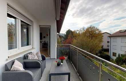 3 Zimmerwohnung mit Balkon im Herzen von Fellbach