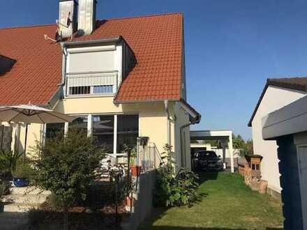 Schöne Doppelhaushälfte mit vier Zimmern in Erlenbach bei Kandel (Kreis Germersheim)