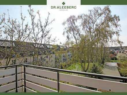 PROVISIONSFREI für Käufer – 1-Zimmer-Appartement mit Traumbalkon in zentraler Lage von Münster