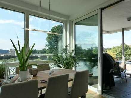 Exklusive 2,5 Zimmer-Wohnung mit Wasserblick in der Oldenburger Hafencity
