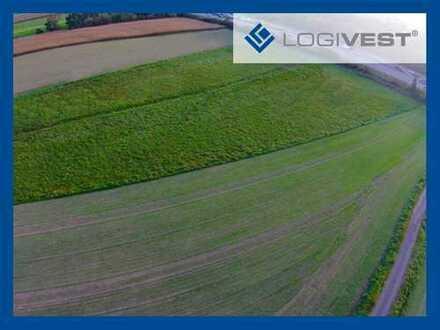 Grundstücksfläche mit 15.000 m² in direkter Nähe zur A 6