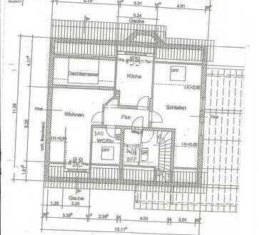 Ansprechende 2-Zimmer-DG-Wohnung mit Dachterrasse in Kaufering