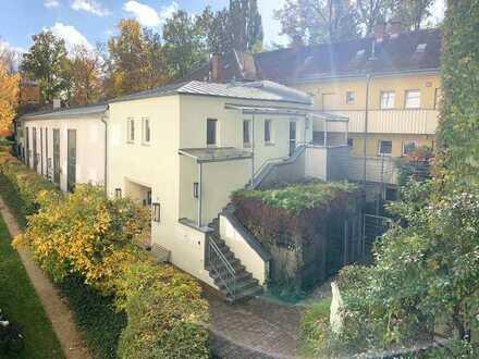 Rückgebäude mit Loft-Charakter in Schoppershof!