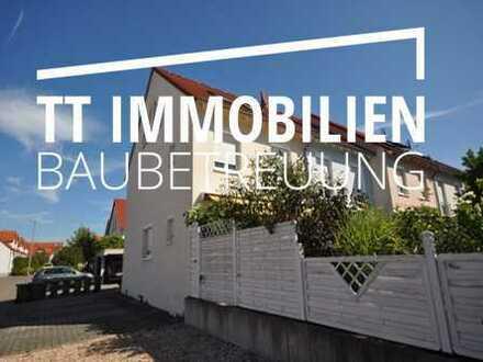 Schickes, modernes 1-Fam.-Haus (REH - real geteilt) mit Südgrundstück in Dieburg-West 