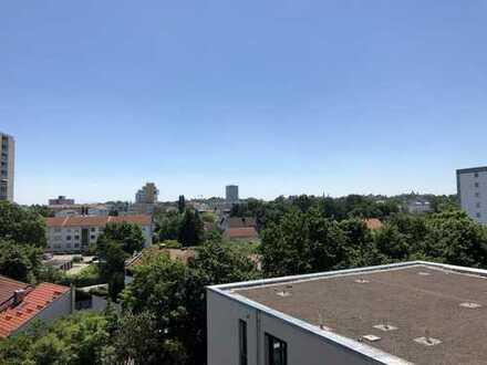 Dachgeschosswohnung mit Weitblick nach Süden