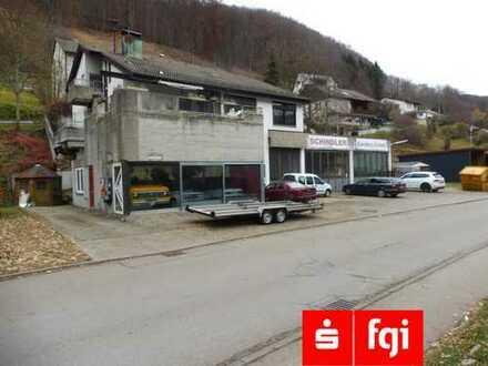 Wohn- und Geschäftshaus mit Werkstatt, Ausstellung und Maisonette Wohnung