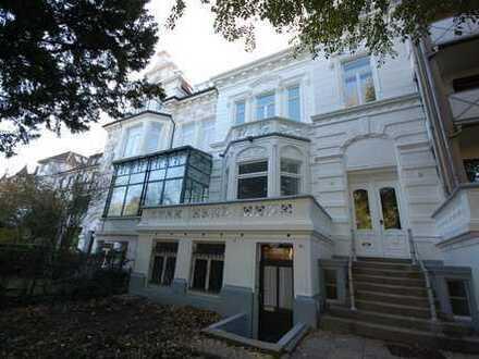 Erstklassige Bürofläche in Bremen - Schwachhausen: 4 Zi-Belle Etage in historischer, Altbremer Villa