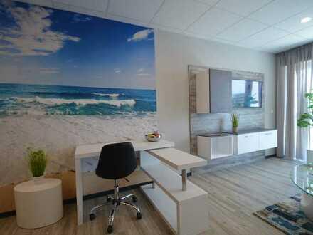 komplett ausgestattete möblierte Wohnung, schick, neu - Schlagen Sie zu!
