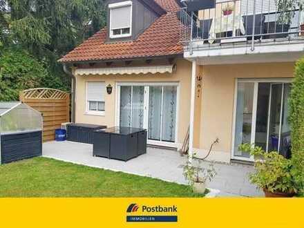 Helle freundliche 3 Zimmer-EG-Wohnung mit Gartenanteil