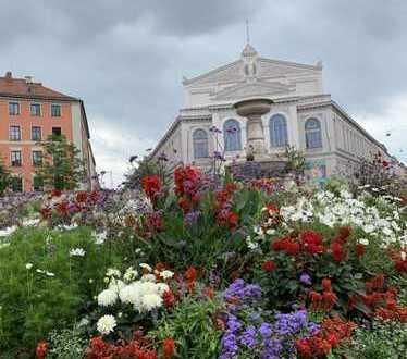 Nachmieter gesucht *ab sofort* für Altbauwohnung mit Balkon nähe Gärtnerplatz