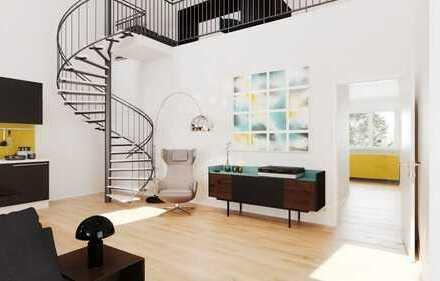 Traumhafte Kuschelwohnung im modernen Design ganz oben mit Fernblick ins Grüne! Mehr geht nicht!