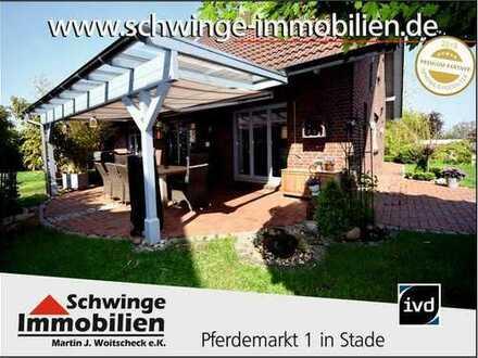 SCHWINGE IMMOBILIEN Stade: Räume, die einen inspirieren. Exklusives Einfamilienhaus in Harsefeld.