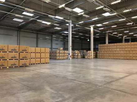 ca. 8.350 m² Lager - und Logistikflächen nahe der Autobahn // kurzfristige Anmietung