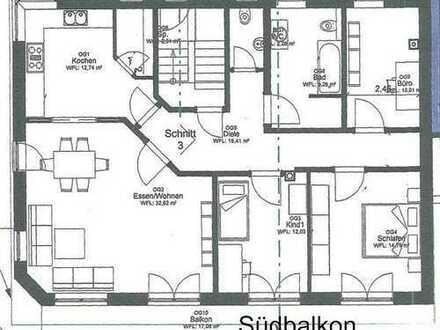 07_WO6425 Neuwertige, ruhige 4-Zimmerwohnung mit großem Südbalkon / Deuerling