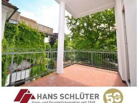 Wunderschöne 2-Zimmer-Wohnung mit großer Terrasse in Schwachhausen!