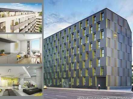 Studentenappartement in Pasing, Neubau, Erstbezug