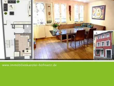 Wohnen an der Stadtmauer - Maisonettewohnung mit 4,5 Zimmer