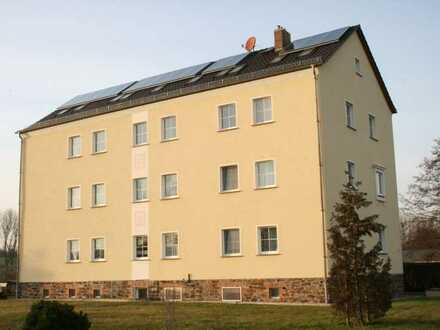 Sanierte 2-Raum-Wohnung in Wünschendorf/Elster am Elsterradweg!