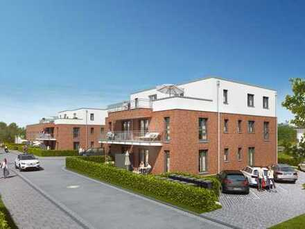 Neubau! Moderne 3 Zimmer-Wohnung mit Balkon in gefragter Lage