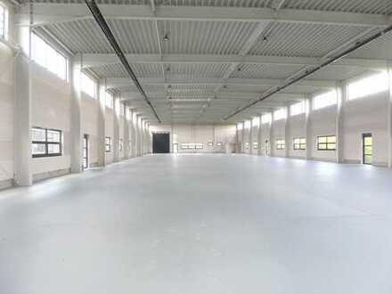 Produktions-/ Lagerhallen mit Bürogebäude | | Bilder und Grundriss auf Anfrage