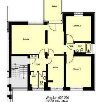 Blaustein - 3-Zimmer-Wohnung mit Balkon