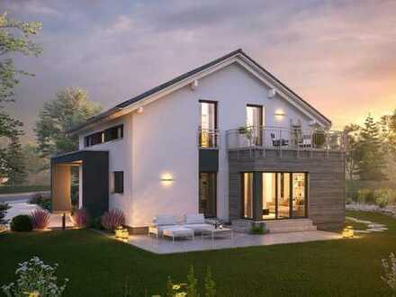 Modernes Einfamilienhaus mit großzügigem Grundriss