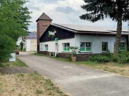 Gewerbegrundstück mit ca. 5000m² direkt am Bahnhof von Brück