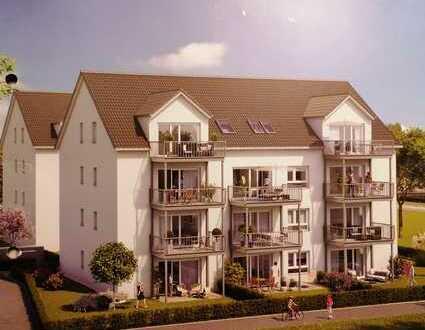 Erstbezug: moderne 3-Zimmer-Wohnung mit Balkon in Mainhausen in Feld- und Mainlage