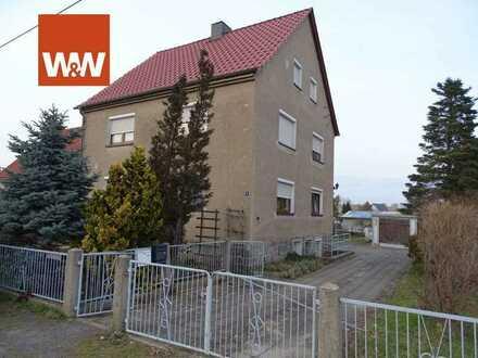 Wohnhaus mit Potenzial bei Kamenz, perfekt für die große Familie - ruhige Lage & großer Garten