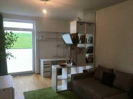 Studenten und Azubis aufgepasst: Möbliertes Appartement in Wohnheim - inklusive Strom und Internet!