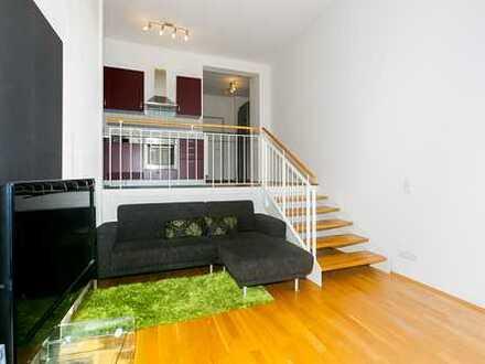 Tobias Grünert Immobilien # pfiffiges Appartement über 2 Ebenen # bezugsfrei