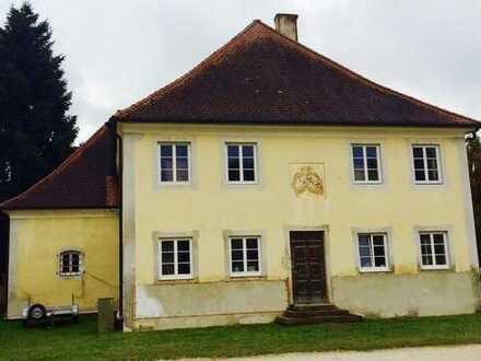 Herrenhaus mit Baugrundstück in Neuburg-Schrobenhausen (Kreis), Waidhofen