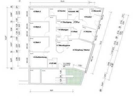 Büro- / Praxisfläche direkt über dem neuen REWE Center nach Ihren Wünschen