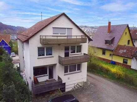 Zweifamilienhaus mit sep. Gewerbe! Potential bis zu 4 Wohneinheiten! Mitten in Blaustein!