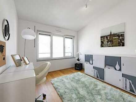 Home Office in der Maisonette-Wohnung!