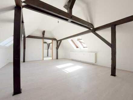 Attraktive Dachgeschosswohnung für Pärchen & Singles + gr. Badezi. + sep. Abstellraum + EBK