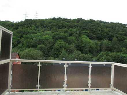 Gemütliche Dachgeschosswohnung mit großem Balkon
