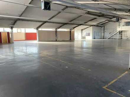 Große Lager-/Produktionshalle  mit separater Bürotrakt im Gemmrigheimer Industriegebiet!
