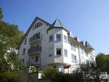 Gepflegte 3-Zimmer-Maisonette-Wohnung mit Balkon und Einbauküche in Horb am Neckar