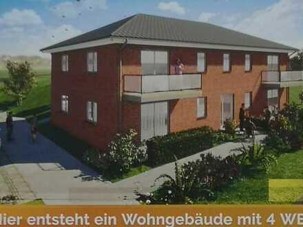 Erstbezug: 2 schöne 2-Zimmer-Wohnung mit Balkon im 1.OG, barrierearm, altersgerecht in Anklam