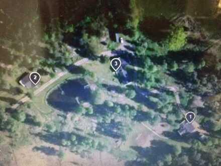 Zauberhaftes Feriendorf bei Vimmerby, Existenz mit 3 Häusern, 4 Wohneinheiten