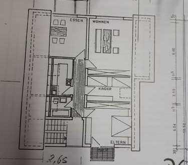 Schöne vier Zimmer Wohnung in Dobel.