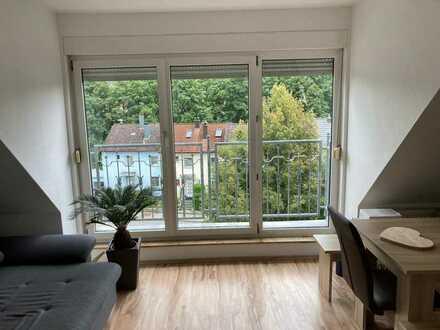 Attraktive 3-Raum-Wohnung mit EBK und französischem Balkon in Ansbach