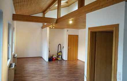 Helle u. offene 1-Zimmer Wohnung mit Galerieempore im Herzen der Karlsruher Südweststadt
