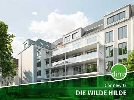 VERKAUFSSTART | Die Wilde Hilde | tolle 5-Raum-Wohnung mit zwei Bädern und großer Terrasse zum Hof
