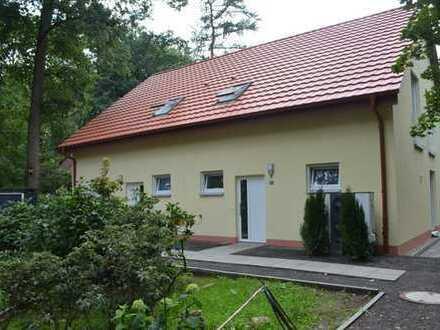 Neuwertige DHH in idyllischer Lage mit vier Zimmern in Leipzig, Holzhausen