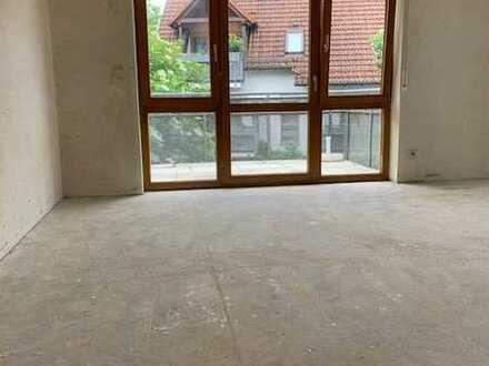 Sonniges 1 Zimmer Apartment in geschützter grüner Lage mit Balkon